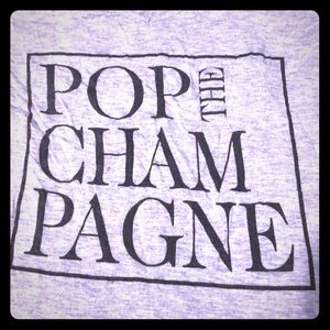 Francesca's pop the champagne tee 🍾